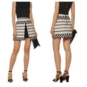 Alice + Olivia Daysi Abstract Mini Skirt